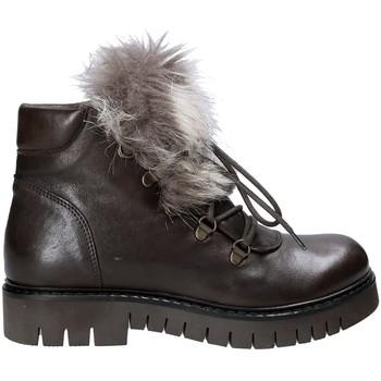 Topánky Ženy Polokozačky Mally 5985 Hnedá