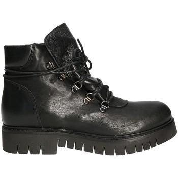 Topánky Ženy Polokozačky Mally 5997 čierna