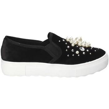 Topánky Ženy Slip-on Fornarina PI18RU1149A000 čierna