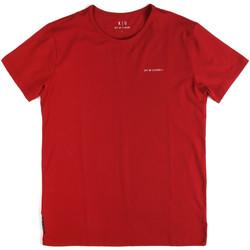 Oblečenie Muži Tričká s krátkym rukávom Key Up 2G69S 0001 Červená