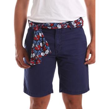 Oblečenie Muži Šortky a bermudy Gaudi 911BU25032 Modrá