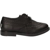 Topánky Deti Derbie Melania ME6023F7I.A čierna