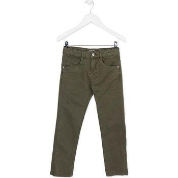 Oblečenie Deti Nohavice päťvreckové Losan 723 9661AA Zelená