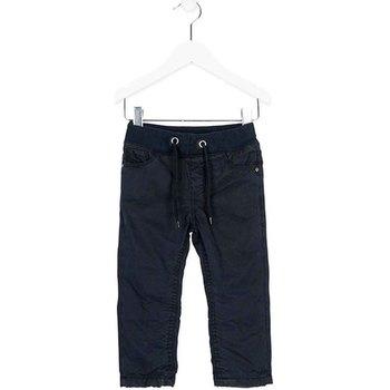 Oblečenie Chlapci Nohavice Chinos a Carrot Losan 725 9660AC Modrá