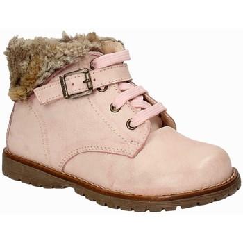Topánky Dievčatá Polokozačky NeroGiardini A722820F Ružová