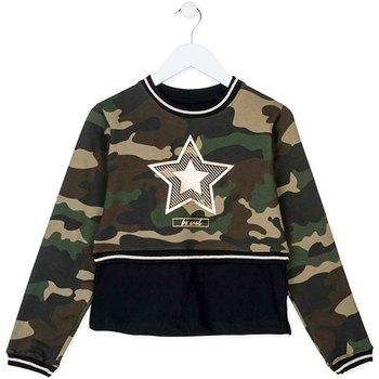 Oblečenie Deti Mikiny Losan 724 6023AB Zelená