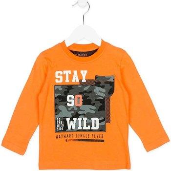 Oblečenie Deti Mikiny Losan 725 1013AC Oranžová