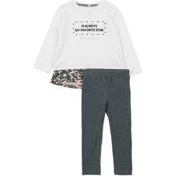 Oblečenie Dievčatá Komplety a súpravy Losan 726 8036AD Biely