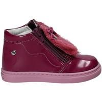 Topánky Dievčatá Čižmičky Melania ME0115A7I.C Fialový