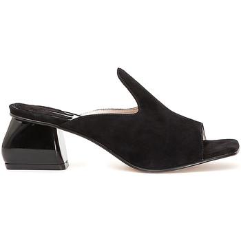 Topánky Ženy Šľapky Café Noir ME573 čierna