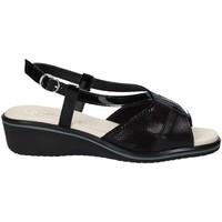 Topánky Ženy Sandále Susimoda 270414-01 čierna