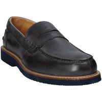 Topánky Muži Mokasíny Exton 9102 Šedá