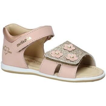 Topánky Dievčatá Sandále Melania ME0801A8E.C Ružová