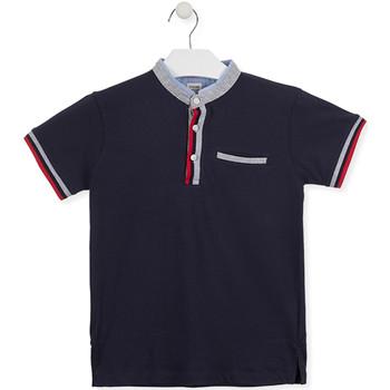 Oblečenie Deti Polokošele s krátkym rukávom Losan 015-1791AL Modrá