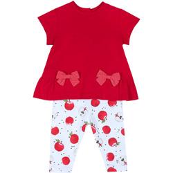 Oblečenie Dievčatá Komplety a súpravy Chicco 09076397000000 Červená
