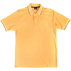 Oblečenie Muži Polokošele s krátkym rukávom Key Up 2Q70G 0001 žltá