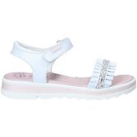 Topánky Dievčatá Sandále Pablosky 4681 Biely