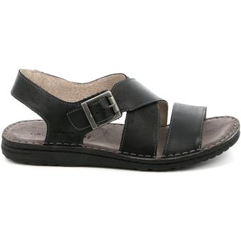Topánky Muži Sandále Grunland SA1853 čierna