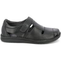 Topánky Muži Sandále Grunland SA1515 čierna