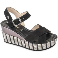 Topánky Ženy Sandále Valleverde 32435 čierna