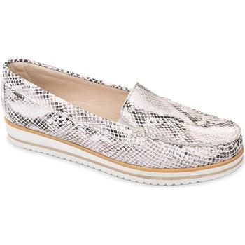 Topánky Ženy Mokasíny Valleverde 11108 Béžová