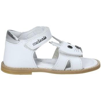Topánky Dievčatá Sandále Melania ME8002B8E.A Biely