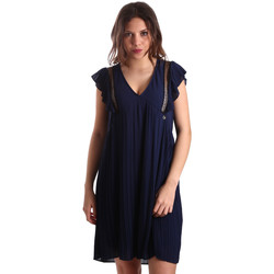 Oblečenie Ženy Krátke šaty Gaudi 911BD15020 Modrá
