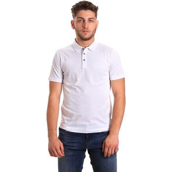 Oblečenie Muži Polokošele s krátkym rukávom Ea7 Emporio Armani 8NPF21 PJ48Z Biely