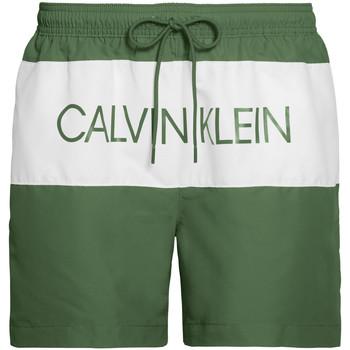 Oblečenie Muži Plavky  Calvin Klein Jeans KM0KM00456 Zelená