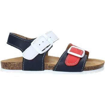 Topánky Deti Sandále Bionatura LUCA IMB Modrá