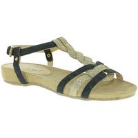 Topánky Ženy Sandále Mally 3828 čierna