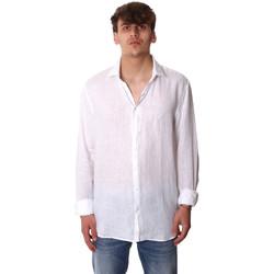 Oblečenie Muži Košele s dlhým rukávom Calvin Klein Jeans K10K106018 Biely