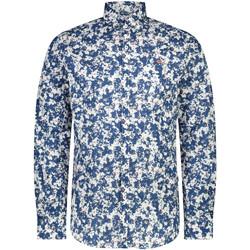 Oblečenie Muži Košele s dlhým rukávom Napapijri NP0A4E2W Modrá