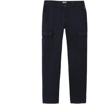 Oblečenie Muži Nohavice Cargo Napapijri NP0A4E31 Modrá