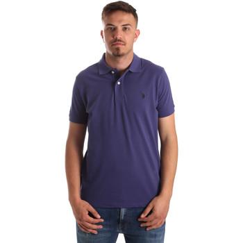 Oblečenie Muži Polokošele s krátkym rukávom U.S Polo Assn. 41029 51244 Modrá