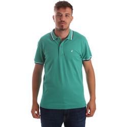 Oblečenie Muži Polokošele s krátkym rukávom Navigare NV82077 Zelená