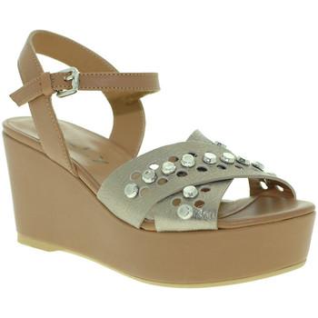 Topánky Ženy Sandále Mally 6237 Hnedá