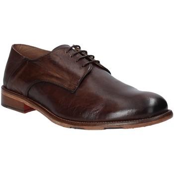 Topánky Muži Derbie Exton 3101 Hnedá