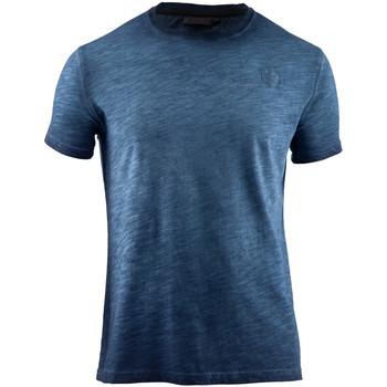 Oblečenie Muži Tričká s krátkym rukávom Lumberjack CM60343 004 517 Modrá