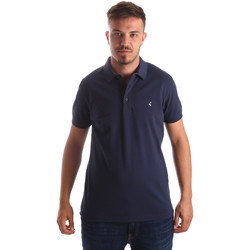 Oblečenie Muži Polokošele s krátkym rukávom Navigare NV82097 Modrá