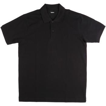 Oblečenie Muži Polokošele s krátkym rukávom Key Up 2800Q 0001 čierna