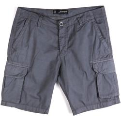 Oblečenie Muži Šortky a bermudy Key Up 2P16A 0001 Modrá
