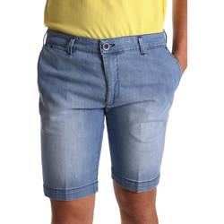 Oblečenie Muži Šortky a bermudy Sei3sei PZV132 7118 Modrá