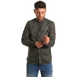 Oblečenie Muži Košele s dlhým rukávom Antony Morato MMSL00452 FA400014 Zelená