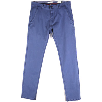 Oblečenie Muži Nohavice Chinos a Carrot Gaudi 811FU25033 Modrá