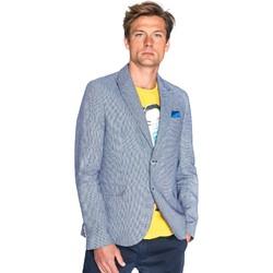 Oblečenie Muži Saká a blejzre Gaudi 811FU35035 Modrá