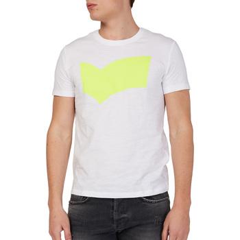 Oblečenie Muži Tričká s krátkym rukávom Gas 542973 Biely