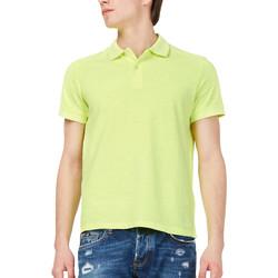 Oblečenie Muži Polokošele s krátkym rukávom Gas 310174 žltá
