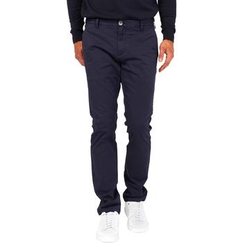 Oblečenie Muži Nohavice Chinos a Carrot Gas 360702 Modrá