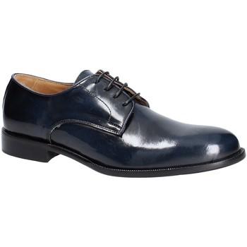 Topánky Muži Derbie Exton 1374 Modrá
